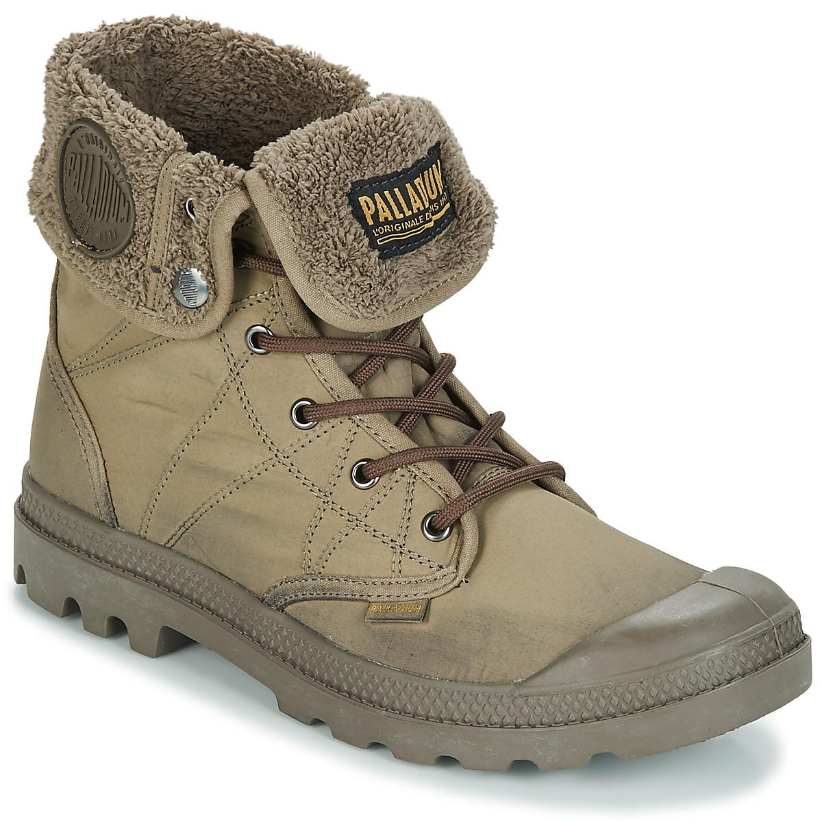 Palladium Pallabrousse BAGGY Tx Mid Boots in Green for Men - Lyst 71e30f99d8