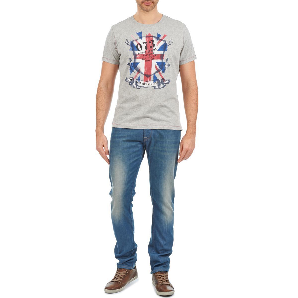 26b84a53e11 Pepe Jeans - Spike Men s Skinny Jeans In Blue for Men - Lyst. View  fullscreen