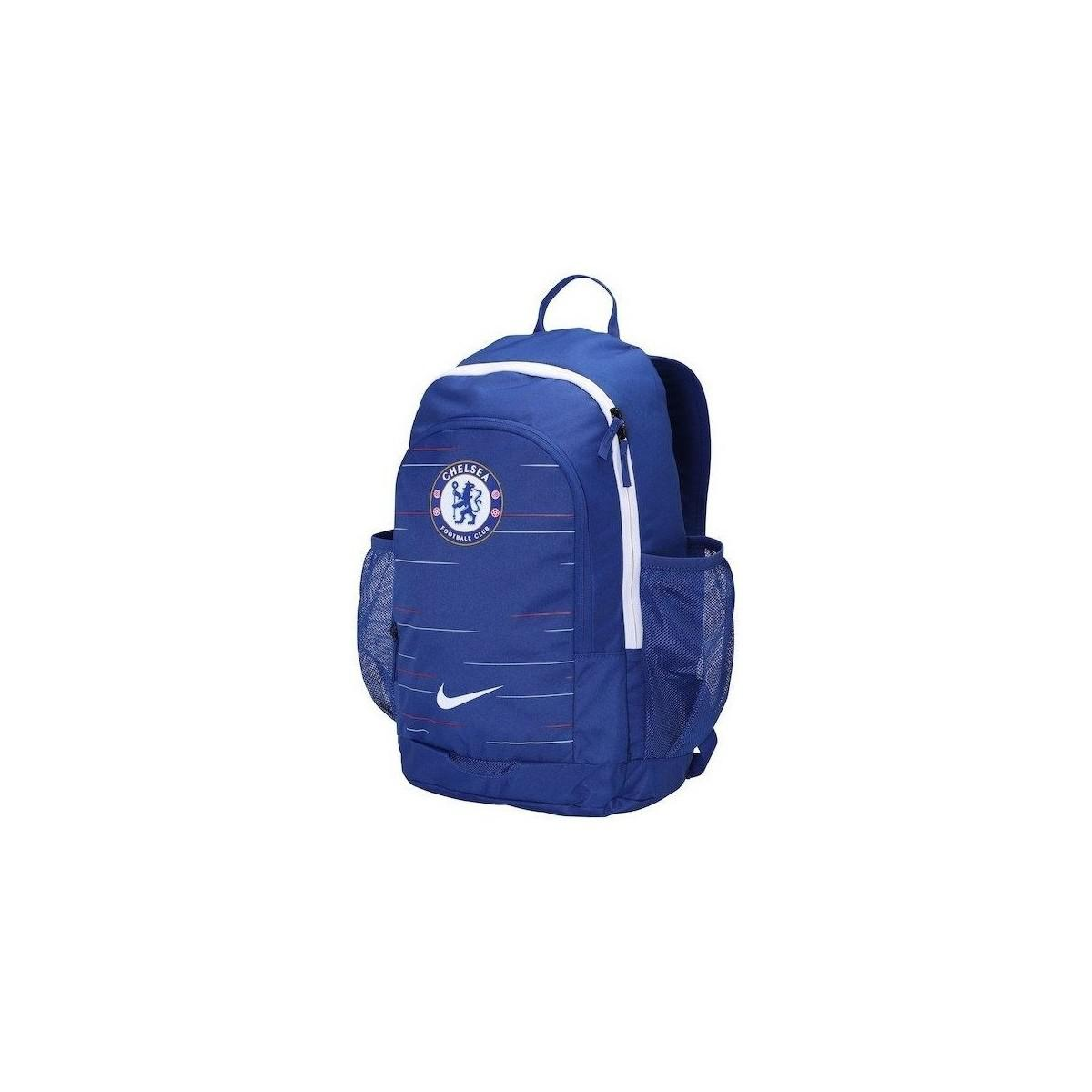 bacf9d35ee29 Nike Chelsea Fc Stadium Women s Backpack In Blue in Blue for Men - Lyst