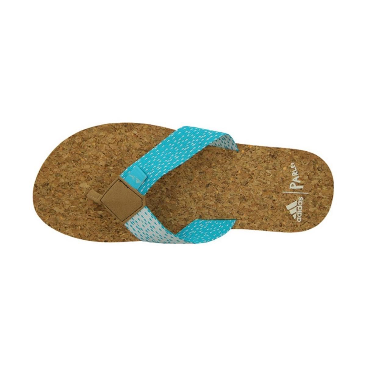 sneakers for cheap 328b2 404b1 Adidas Originals Eezay Parley Thong Mens Flip Flops  Sandals