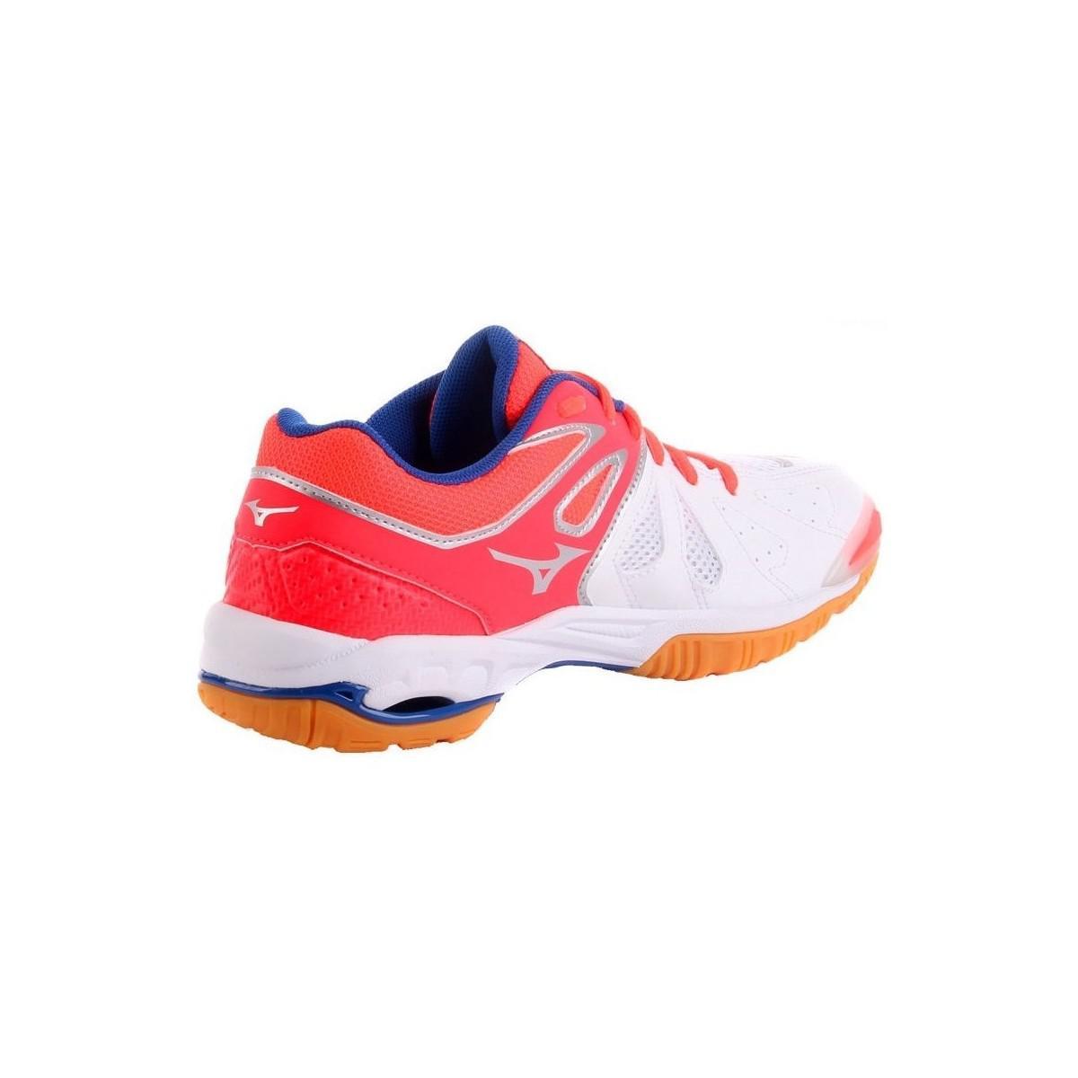 7232c72e8cf6 Mizuno Wave Phantom Womens Women's Shoes (trainers) In White in ...
