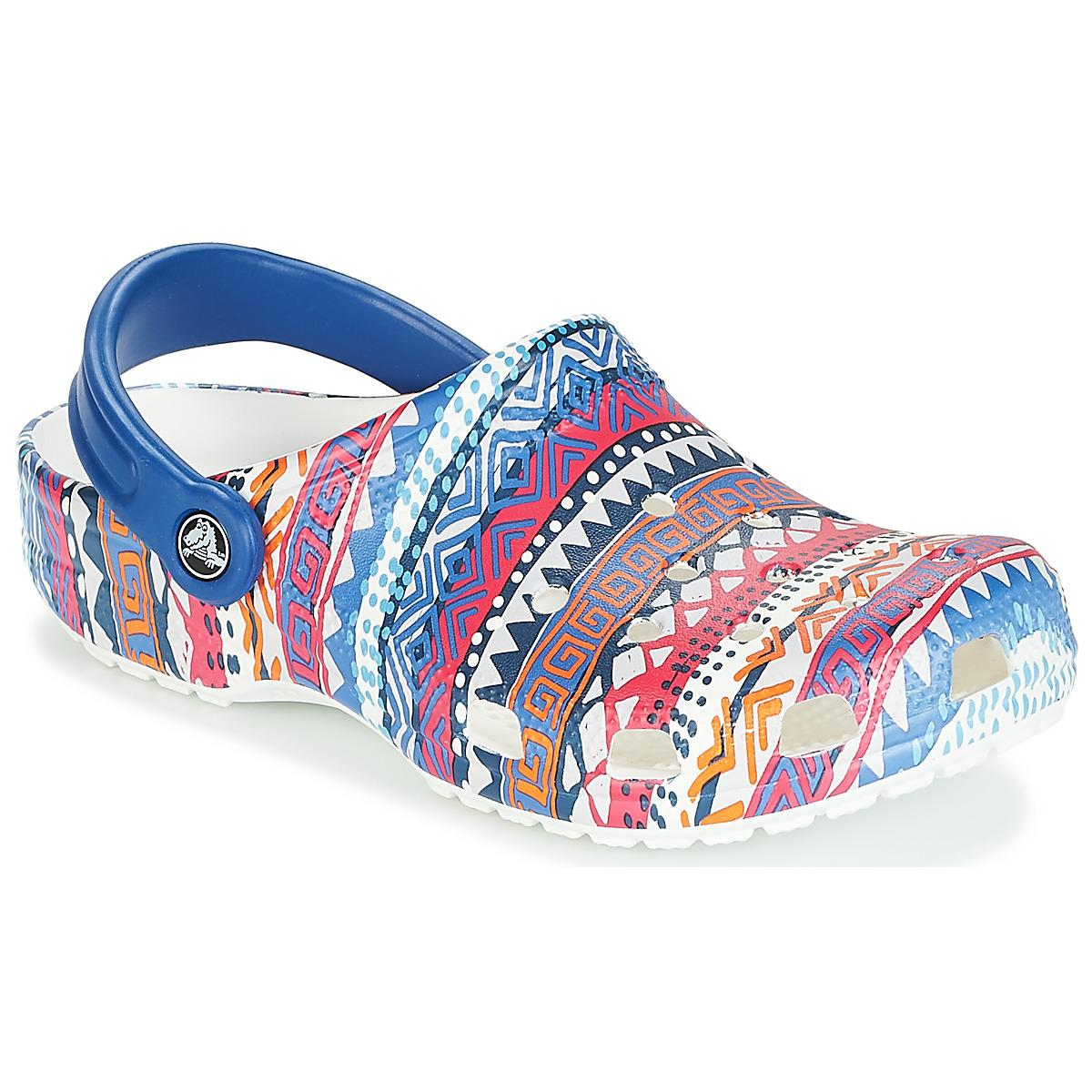 8bdae4645220e Crocs™ Classic Graphic Clog Women s Clogs (shoes) In Multicolour in ...