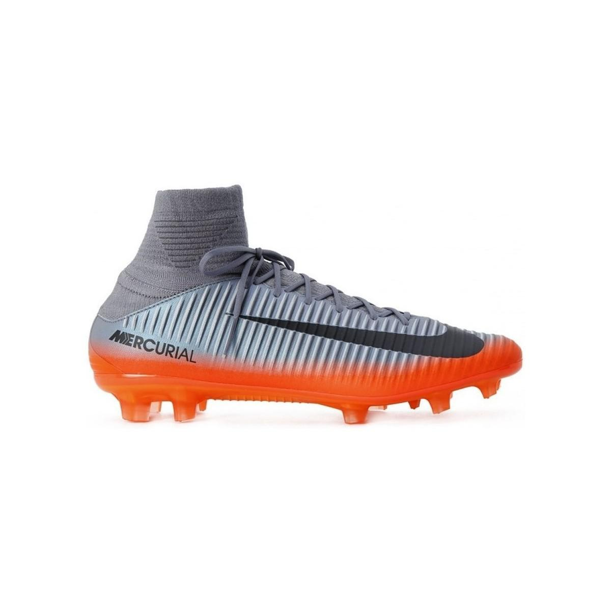 bbeddd01c Nike Mercurial Veloce Iii Df Cr7 Fg Men s Football Boots In Silver ...