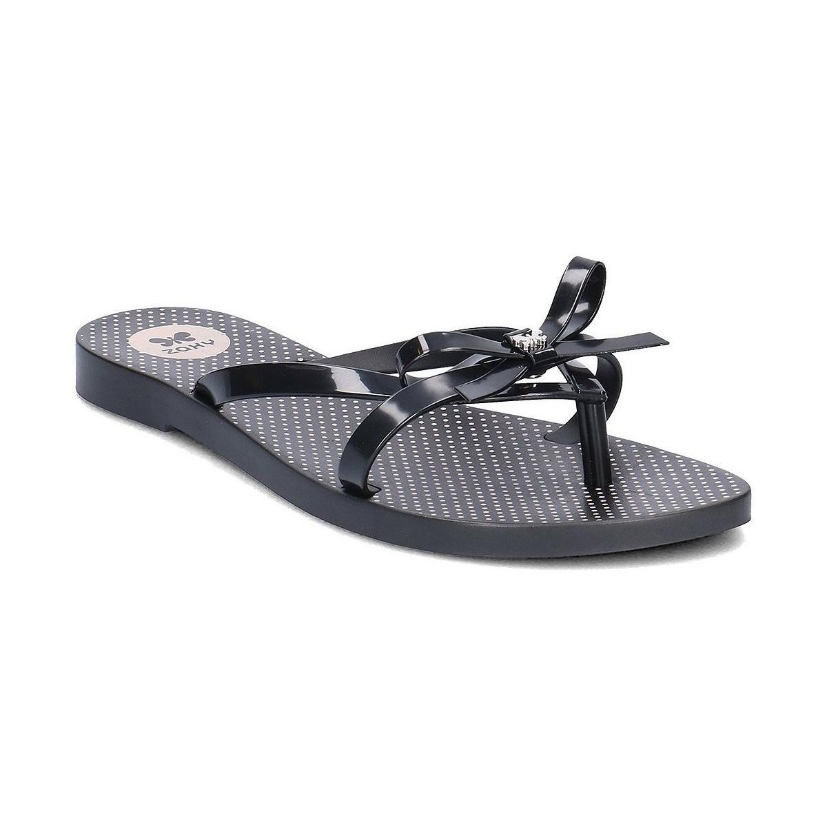 3a81e20635bc80 Zaxy Fresh Top Women s Flip Flops   Sandals (shoes) In Black in ...