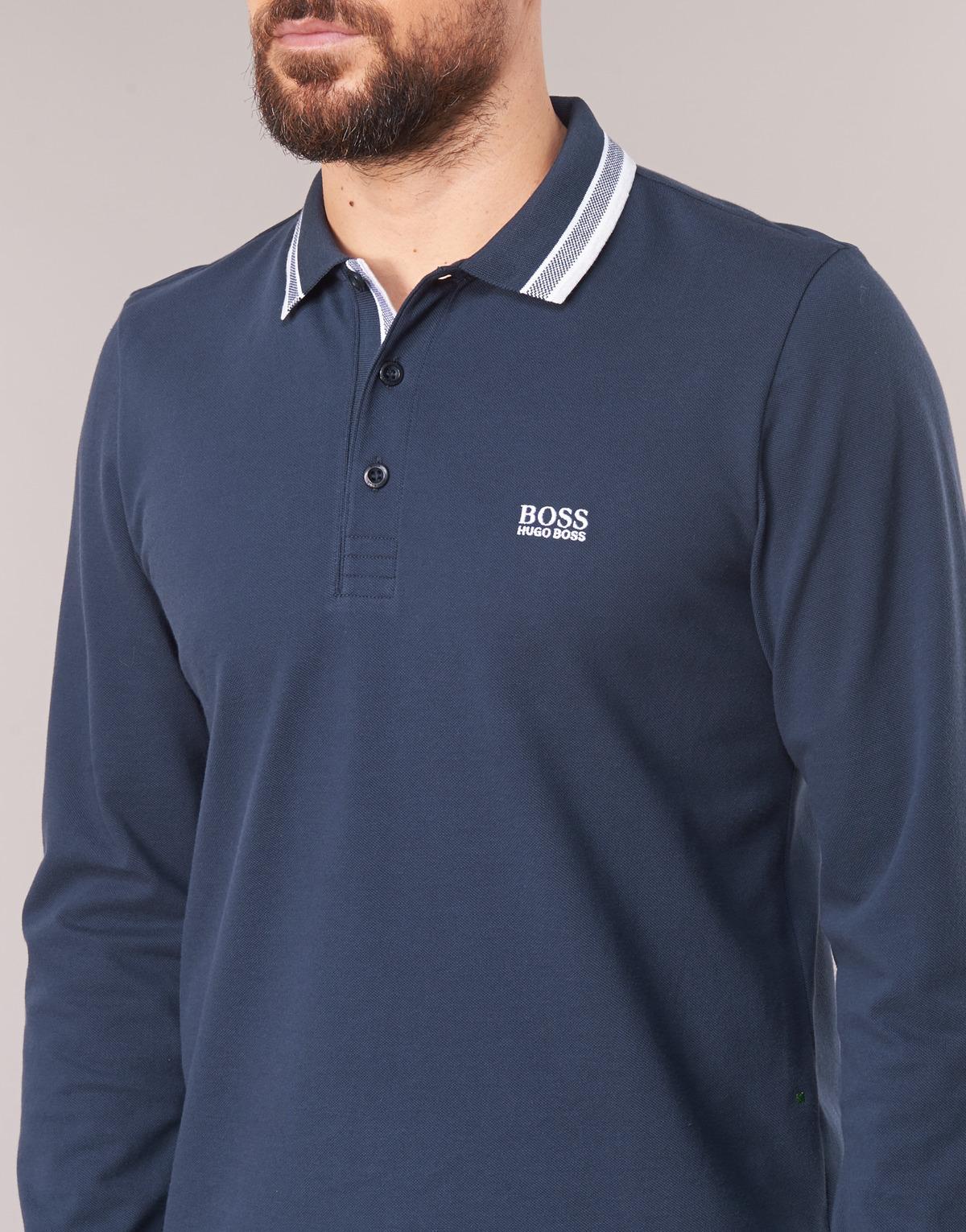 69ec0553e BOSS Athleisure - Plisy Men's Polo Shirt In Blue for Men - Lyst. View  fullscreen