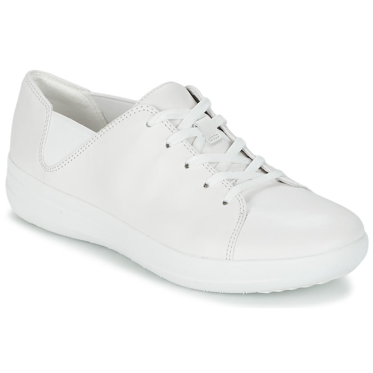 fbc850f7522c Fitflop F-sporty Women s Shoes (trainers) In White in White - Lyst