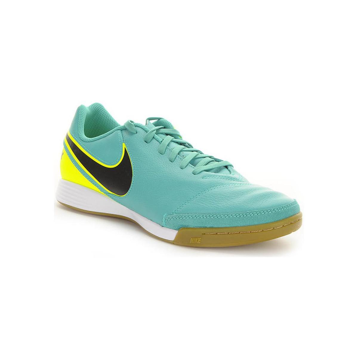 b5efb8c4803b Nike Tiempox Genio Ii Leather Ic Men s Football Boots In Green in ...