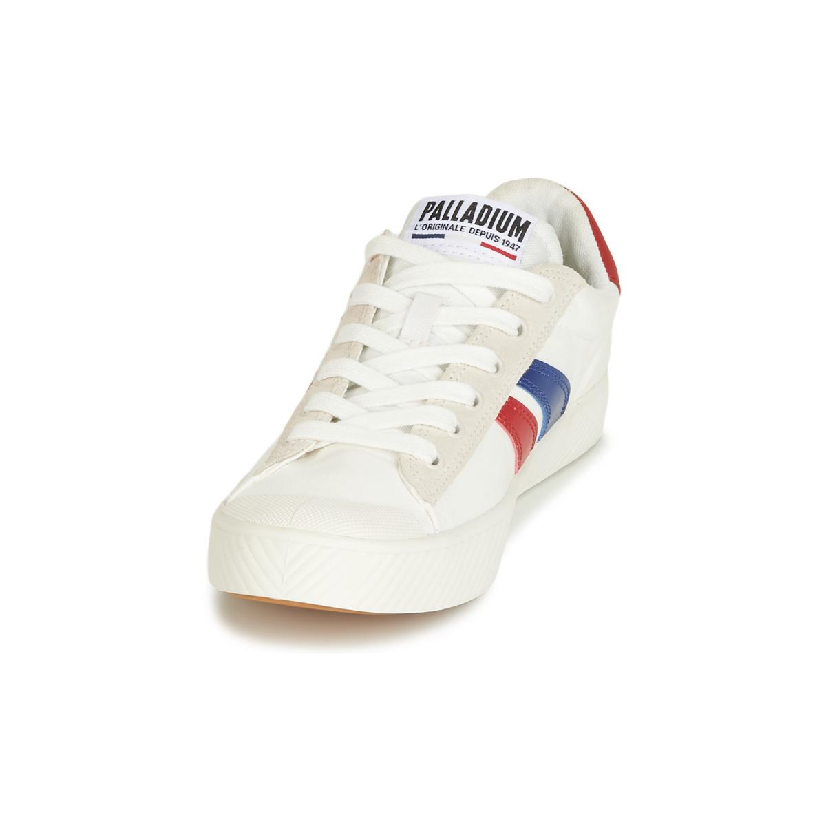 Palladium - Pallaphoenix Flame C Women s Shoes (trainers) In White - Lyst.  View fullscreen f4bd29ac4