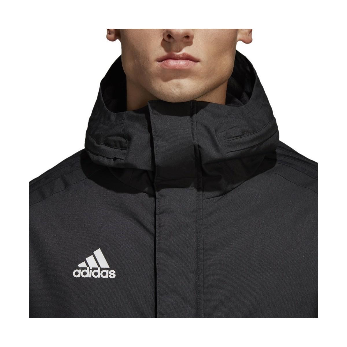 7314e9e571f adidas Condivo 18 Winter Men s Jacket In Black in Black for Men ...