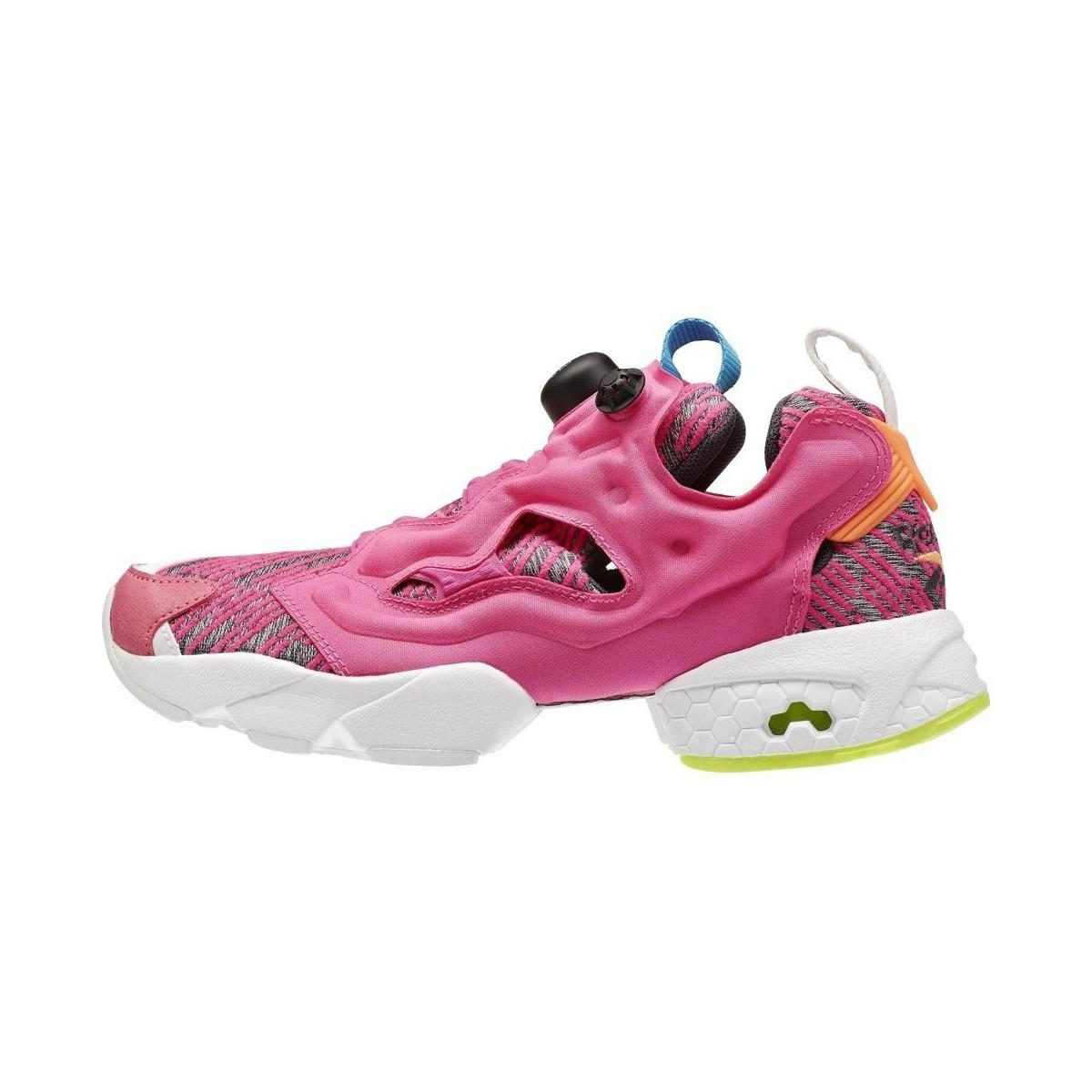 330769a20a3546 Reebok Instapump Fury Celebrate Women s Shoes (trainers) In Pink in ...