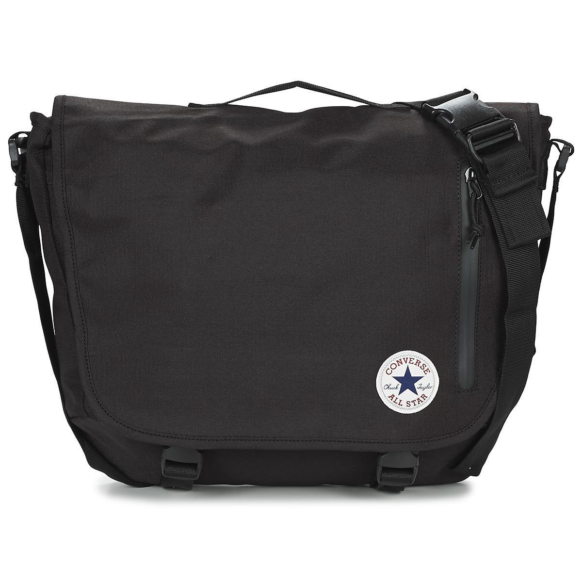 Converse Core Poly Messenger Men s Messenger Bag In Black in Black ... d93ace5018ef1