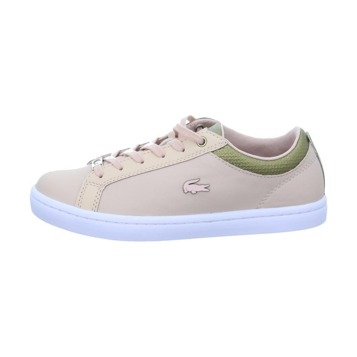 3419b9f7d Lacoste Straightset 118 Women s Shoes (trainers) In Multicolour - Lyst