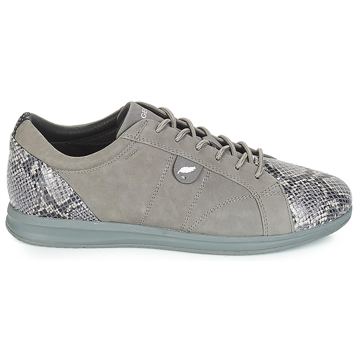 75190e54c2 In trainers in Geox Lyst D Avery Grey Gray Women's Shoes g0gXqIR