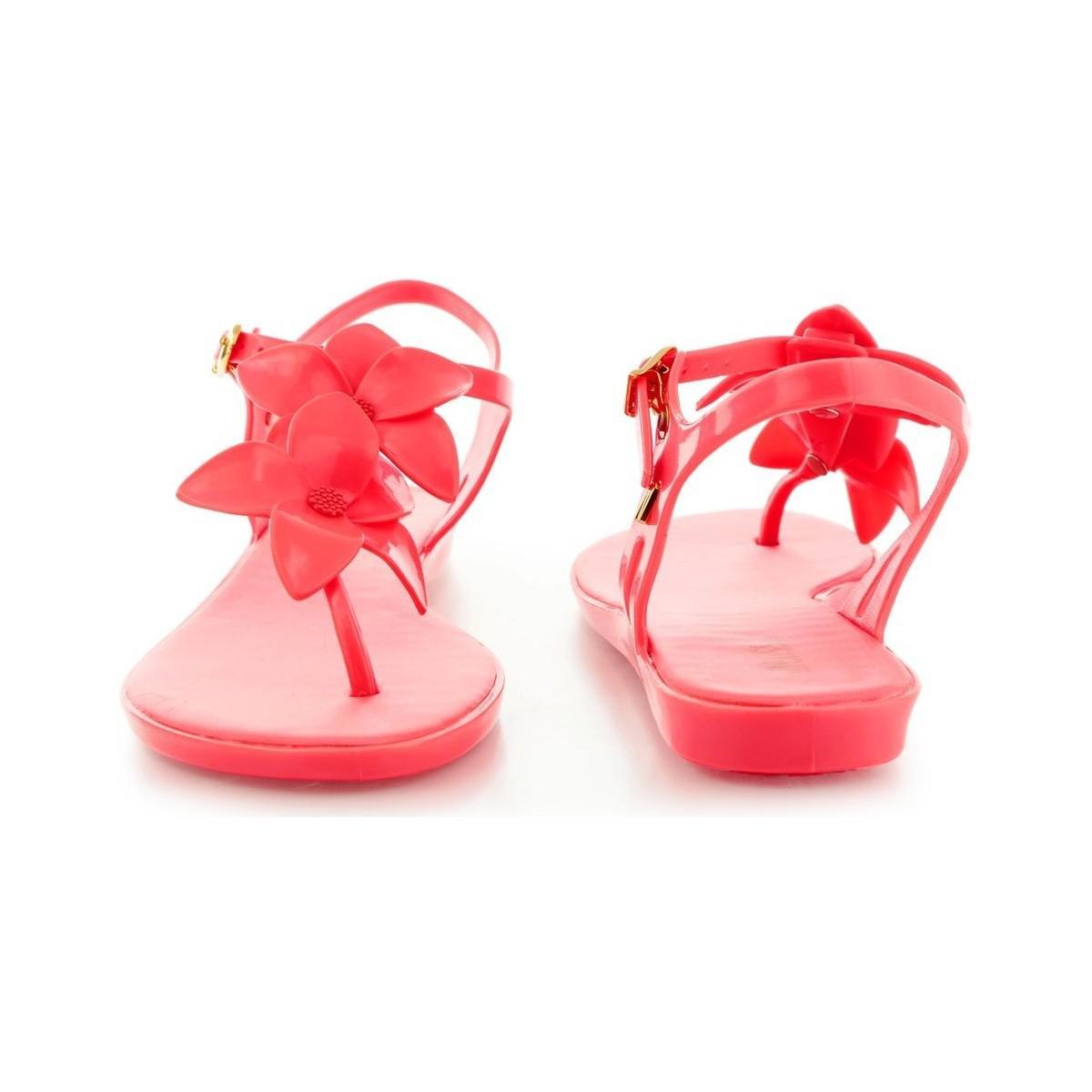 4f6cc121da2 Melissa Solar Garden Ii Women s Sandals In Pink in Pink - Lyst