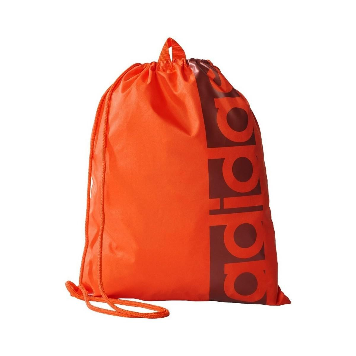 1445fc0509 adidas Linear Performance Gym Bag Men s Backpack In Red in Red - Lyst