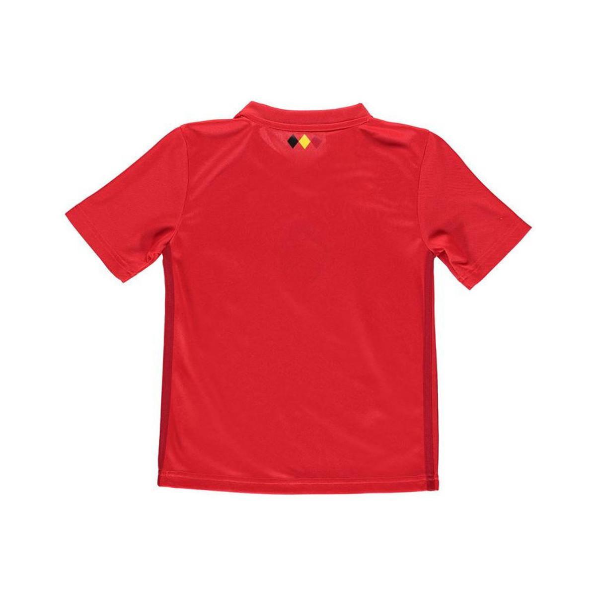 Adidas 2018-2019 Belgium Home Shirt (hazard 10) - Kids Men s T Shirt ... e011ce69f