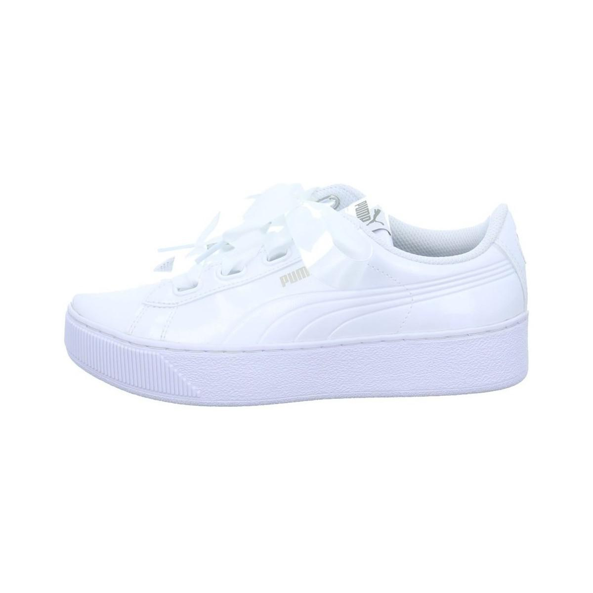 e46aba49afc3 PUMA Vikky Platform Men s Shoes (trainers) In White in White for Men ...