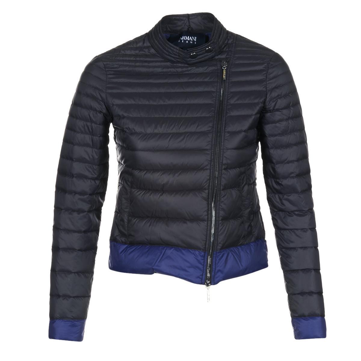 Armani Jeans Beaujado Women s Jacket In Black in Black - Lyst 98e23458dd8