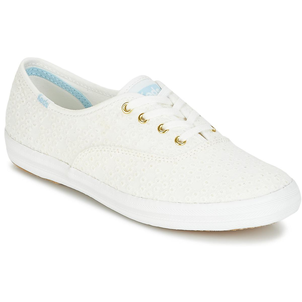 700a39ffa83ff Keds Champion Dot Eyelet Shoes (trainers) in White - Lyst