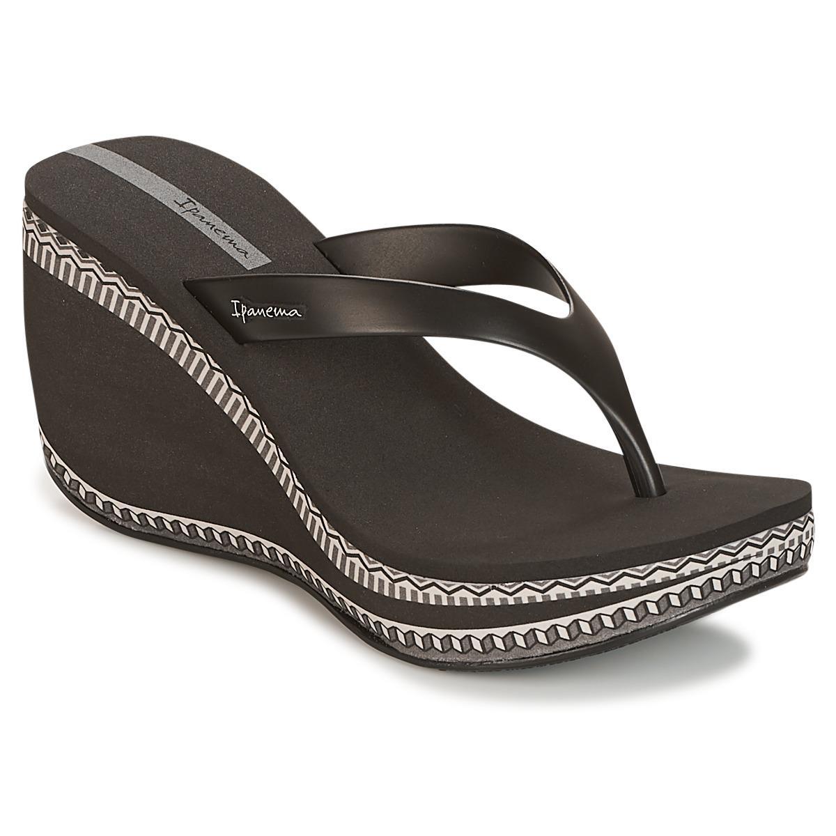 672605685 Ipanema Lipstick Thong Vi Flip Flops   Sandals (shoes) in Black - Lyst