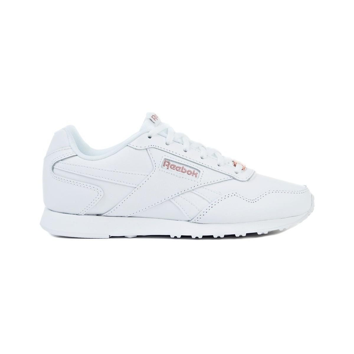 3bd35e6bd74 Reebok Royal Glide Lx Women s Shoes (trainers) In White in White - Lyst