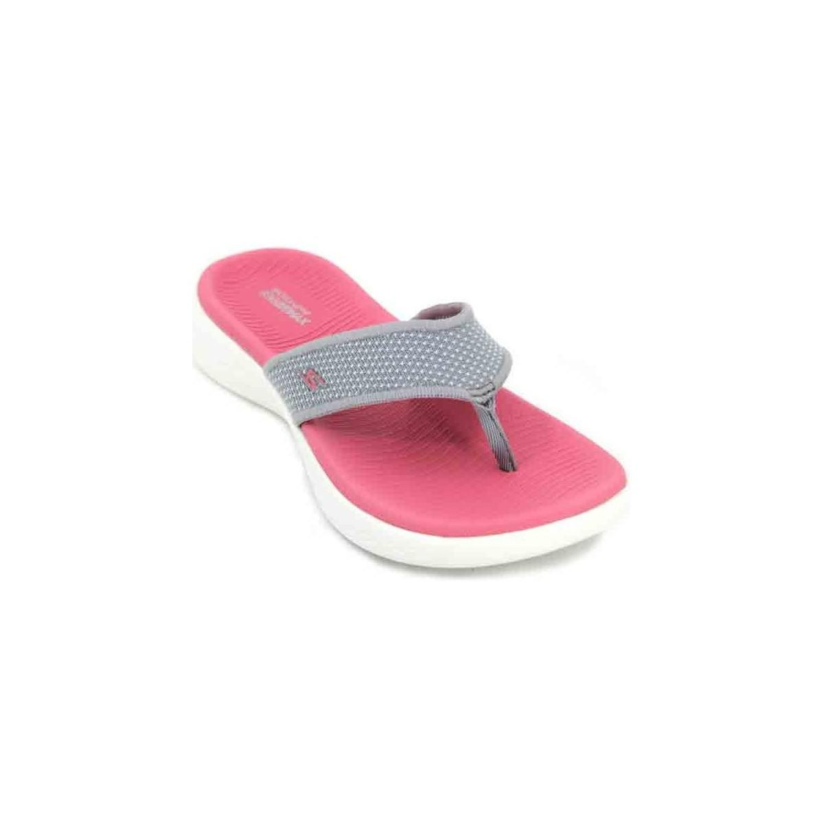 5865cbdec656e3 Skechers On The Go 600 15300 Women s Sandals Women s Flip Flops ...