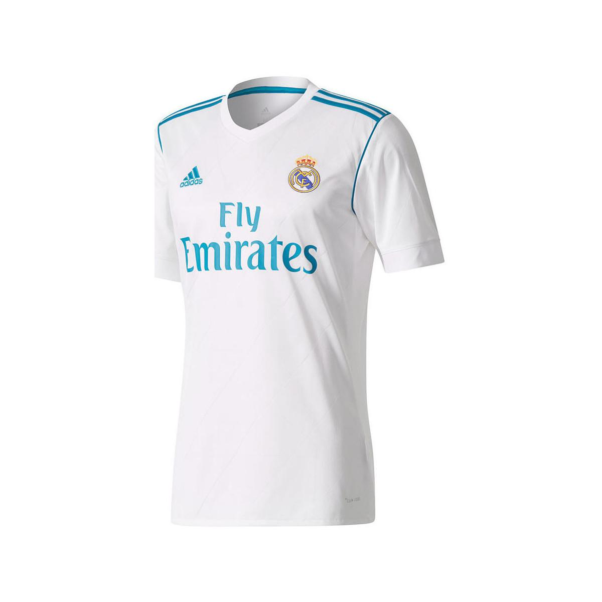 b898152b7 adidas 2017-18 Real Madrid Home Shirt (sergio Ramos 4) Women s T ...