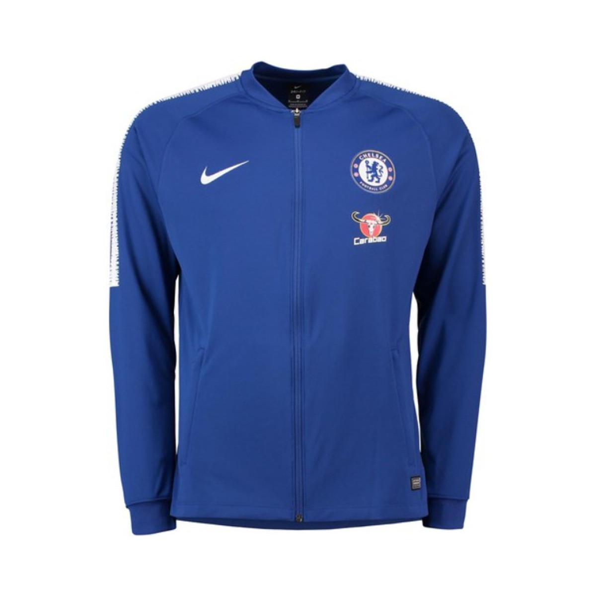 cffcd82ad Nike 2018-2019 Chelsea Squad Track Jacket Men's Tracksuit Jacket In ...