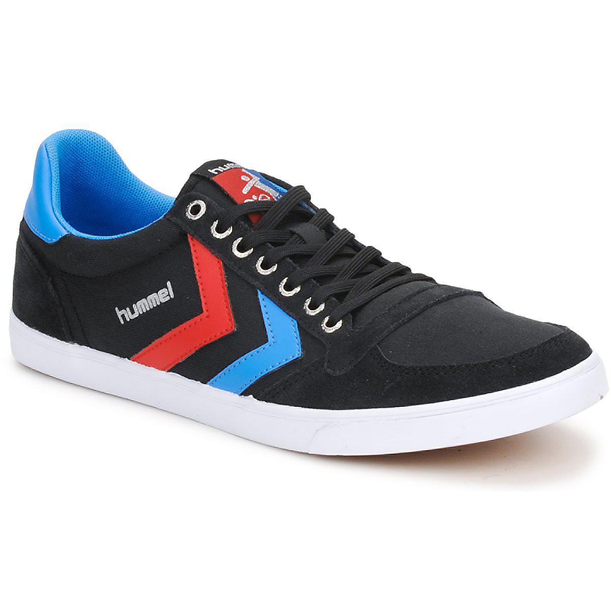 d246175da36671 Hummel Ten Star Low Canvas Women s Shoes (trainers) In Black in ...