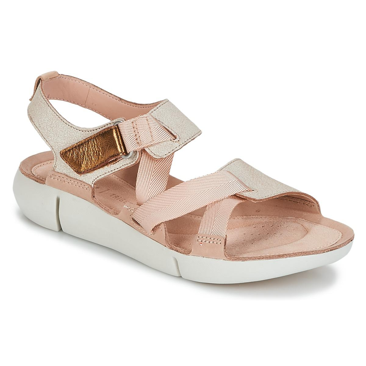 Clarks Tri Clover Women s Sandals In Beige in Natural - Save 31% - Lyst