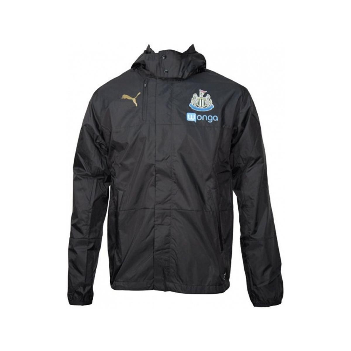 d199c39c670d Puma 2016-2017 Newcastle Lightweight Rain Jacket Men s In Black in ...