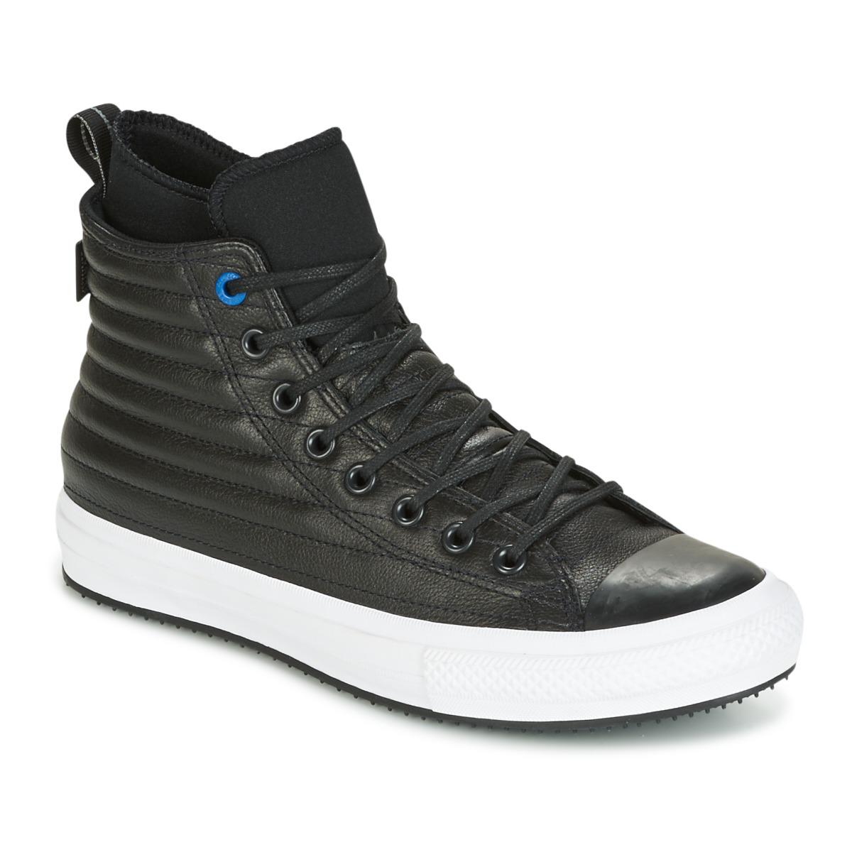 4cd775f54d1499 Converse. Chuck Taylor Wp Boot Quilted Leather Hi Black blue Jay white  Men s Shoes (high-top ...