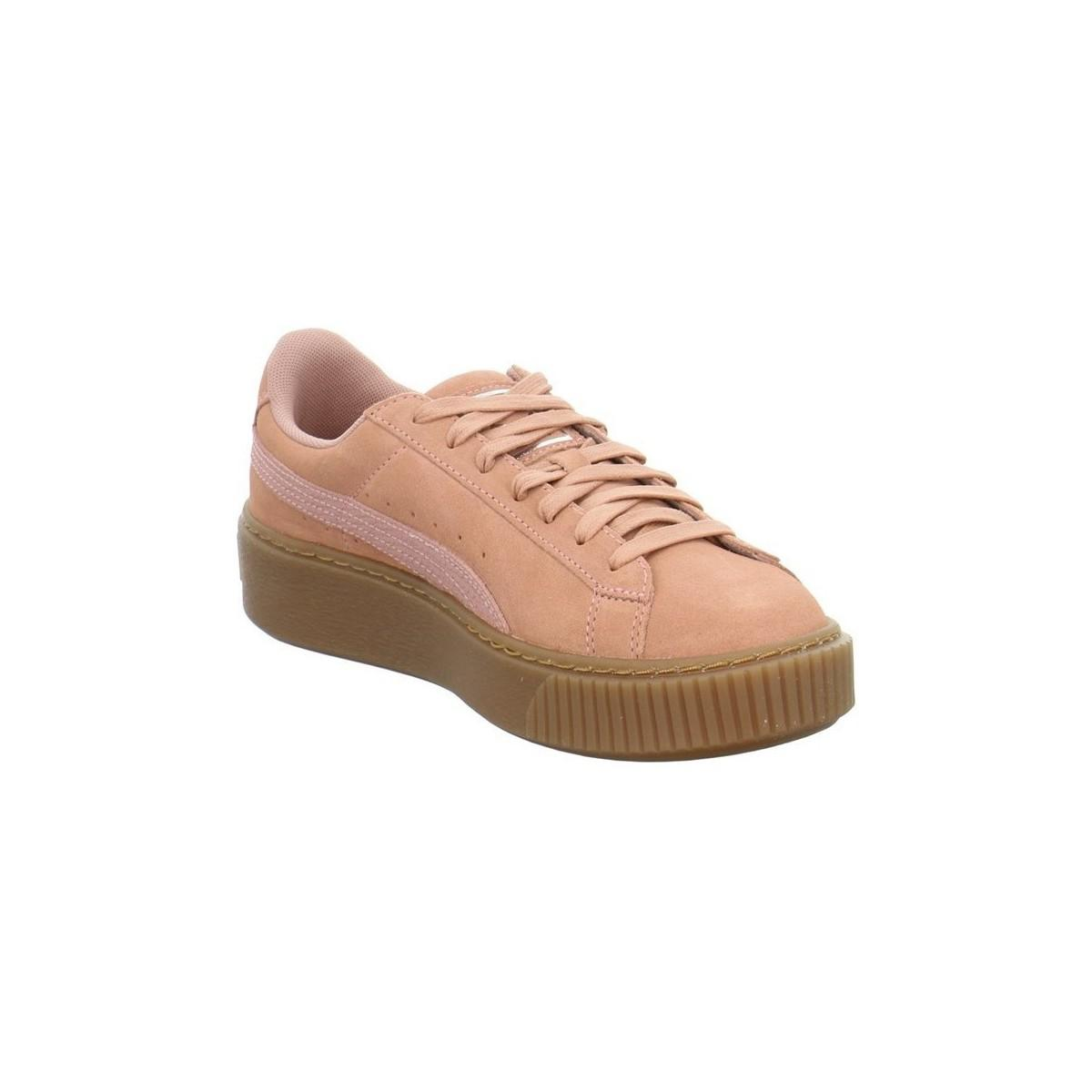 f867202aec0 PUMA Suede Platform Animal Men s Shoes (trainers) In Pink in Pink ...