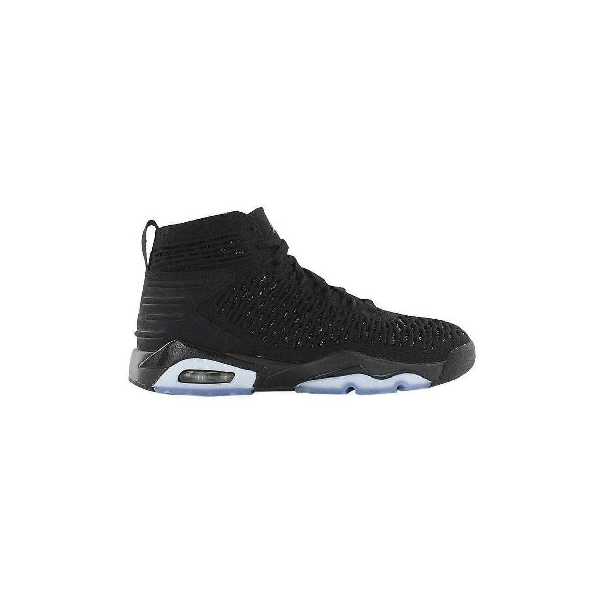 hot sale online c3a65 c550b Lyst - Jordan Flyknit Elevation 23 hommes Chaussures en Noir Nike ...
