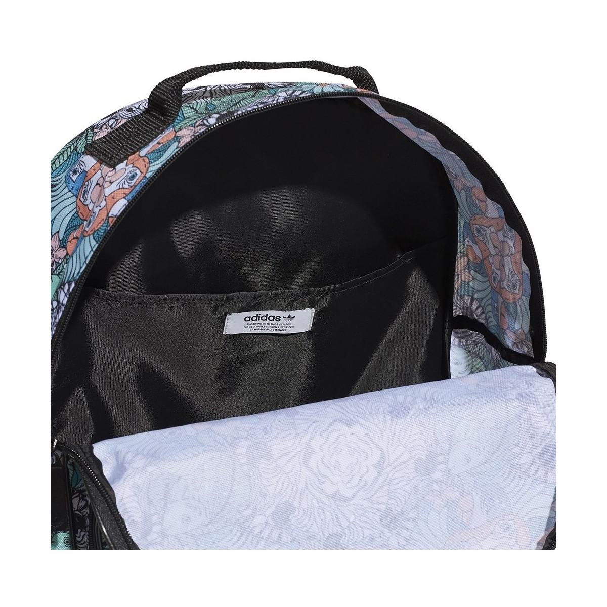 5a7ad0c0e5d3 adidas Originals Classic Bp Animal Youth Men s Backpack In White in ...