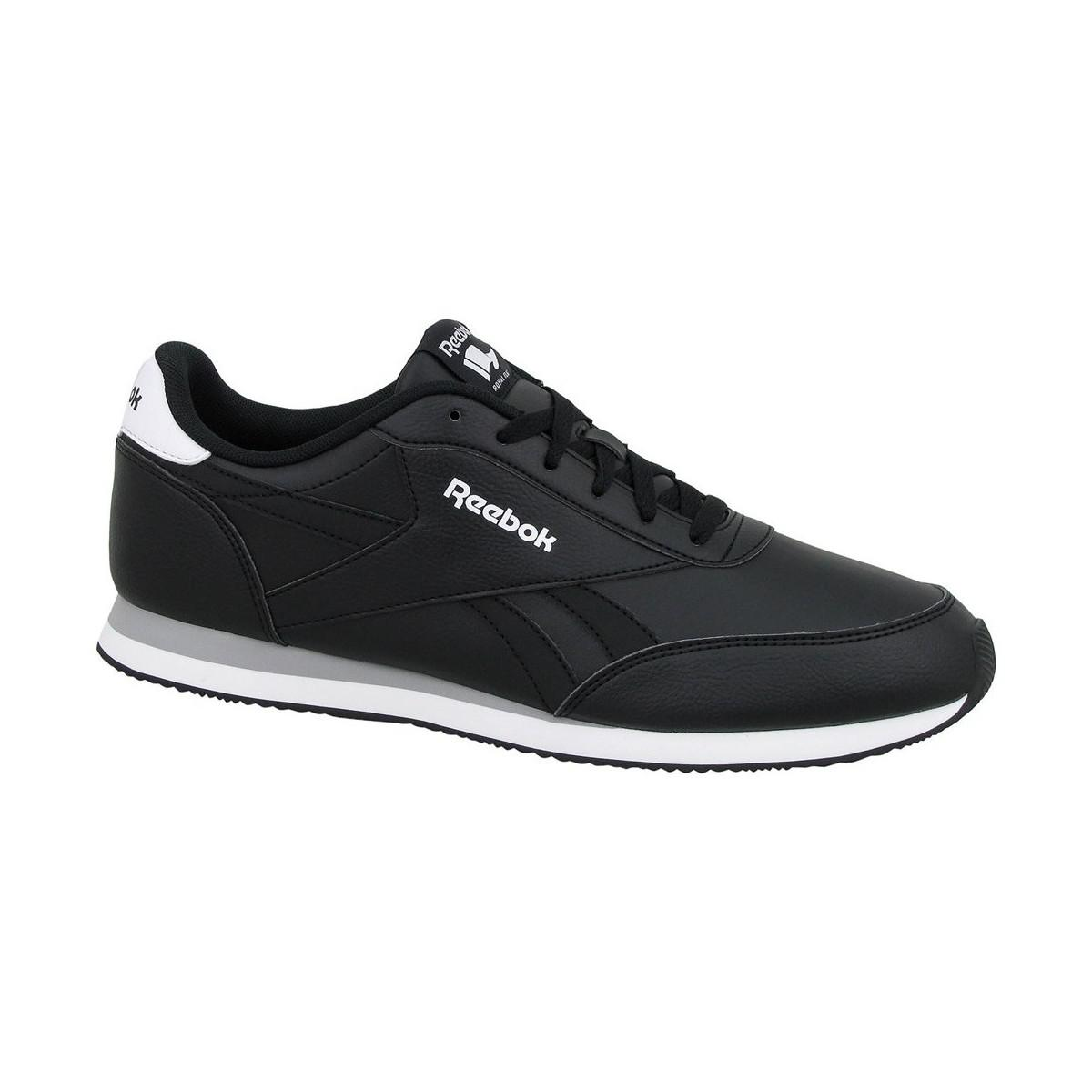 f08fa4acc5c80 Reebok Royal Cl Jogger 2l Men s Shoes (trainers) In Black in Black ...