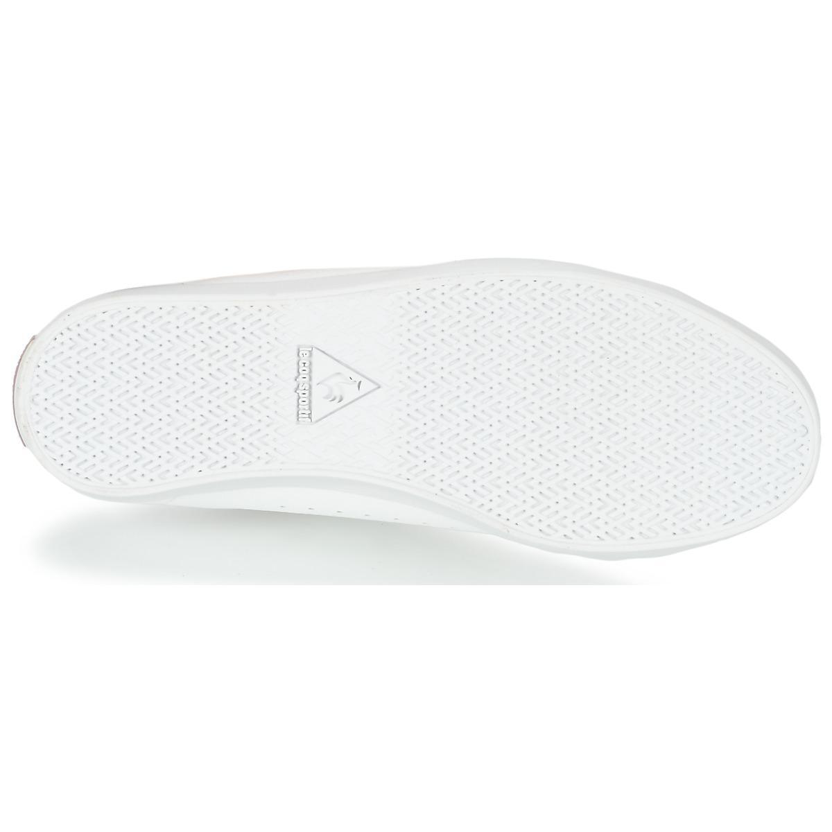 9ef364a5b6ad Le Coq Sportif Agate Lo S Lea metallic Women s Shoes (trainers) In ...