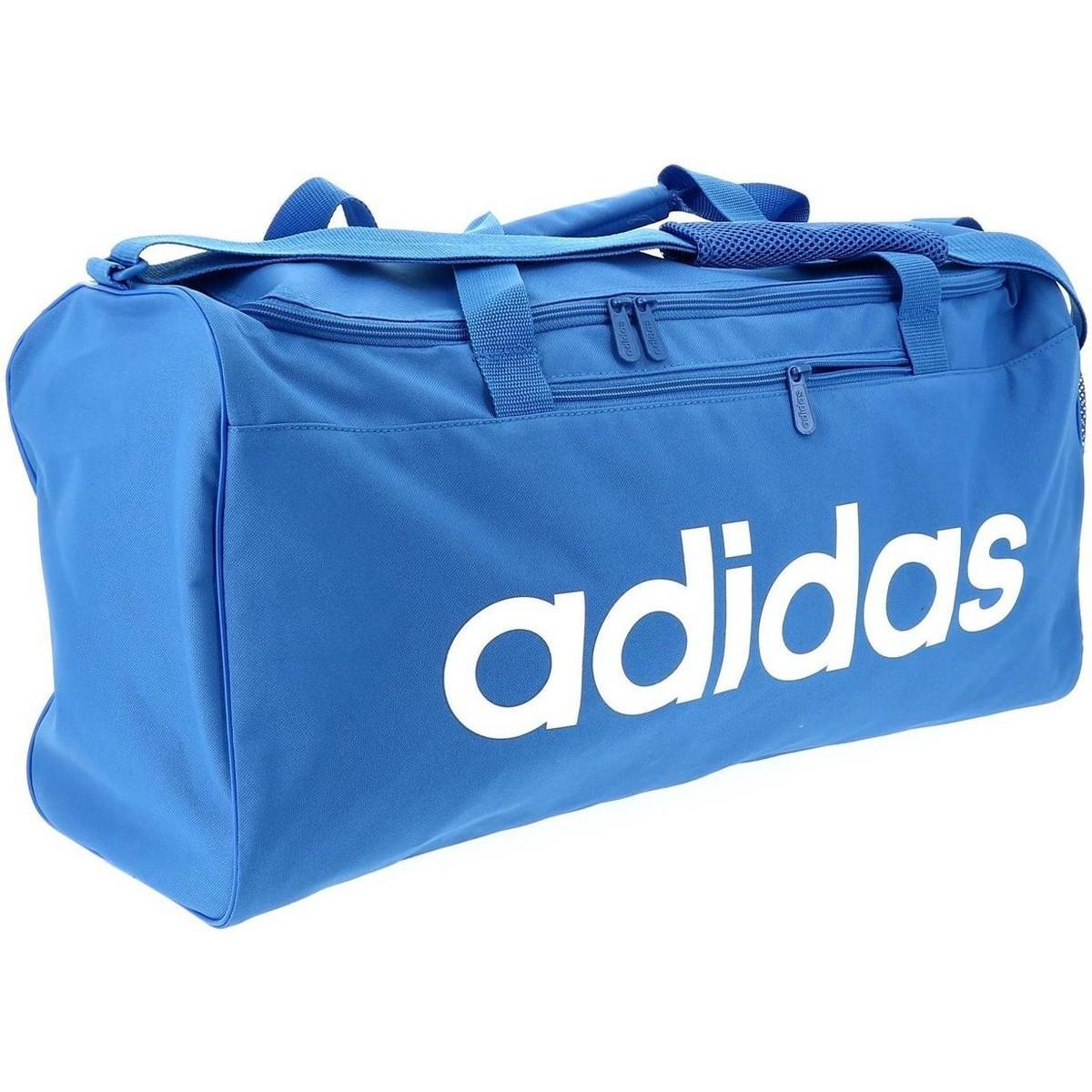e960684b6f Adidas - Lin core duf m blue/wht hommes Sac de sport en bleu for. Afficher  en plein écran