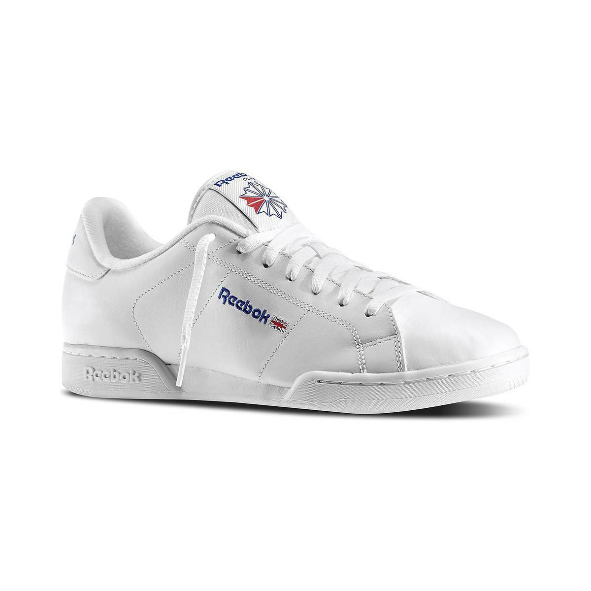 a3bd81810ed26 Reebok Npc Ii Men s Shoes (trainers) In White in White for Men - Lyst
