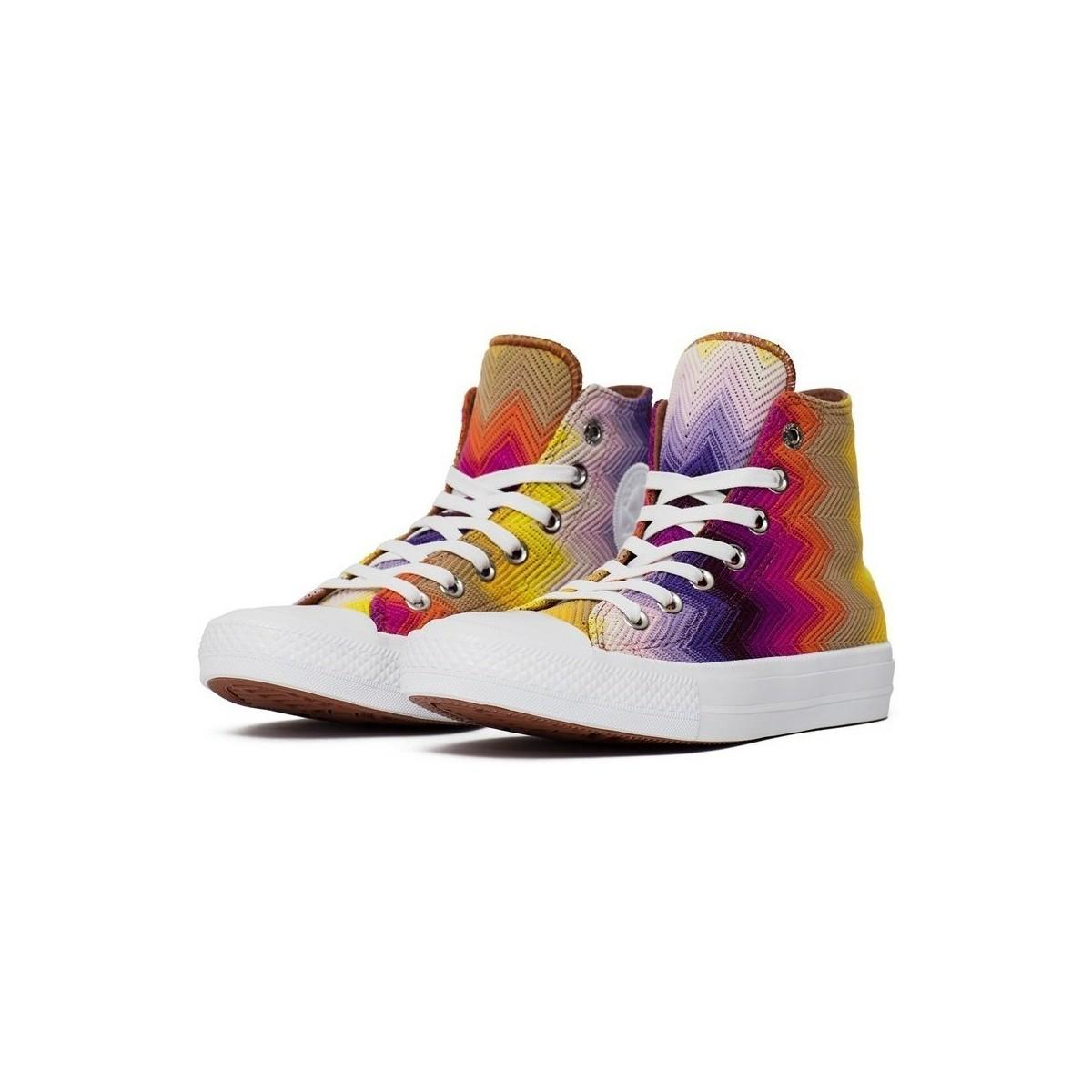 c8db8c7533 Converse - Multicolor Chuck Taylor All Star Ii X Missoni Women s Shoes  (high-top. View fullscreen