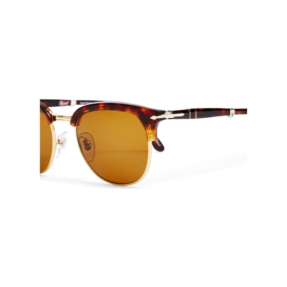 46e43aafb1 Persol Suprema Icon Sunglasses Brown Men s In Brown in Brown for Men ...
