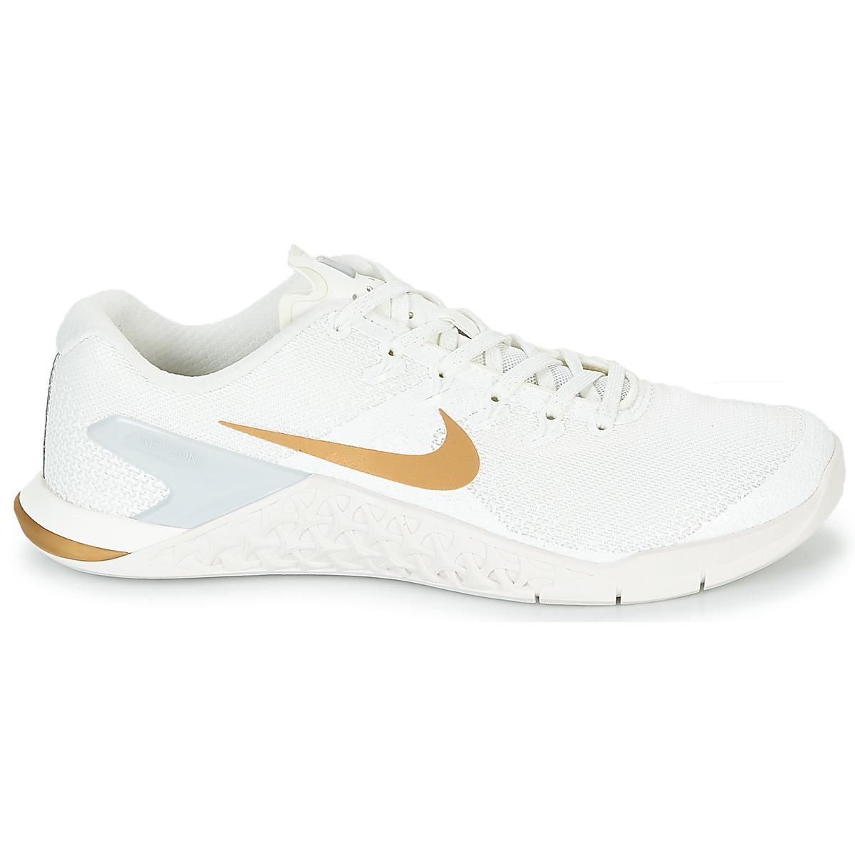 online store e073e e4cc6 Nike - Metcon 4 Champagne Womens Trainers In White - Lyst. View fullscreen