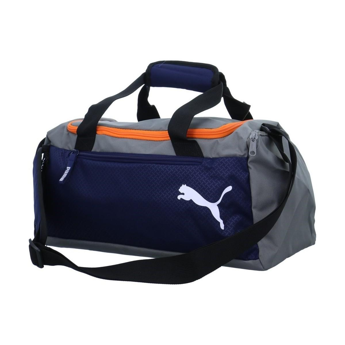 029cb1a4f42157 Puma Fundamentals Sports Men's Sports Bag In Blue in Blue for Men - Lyst