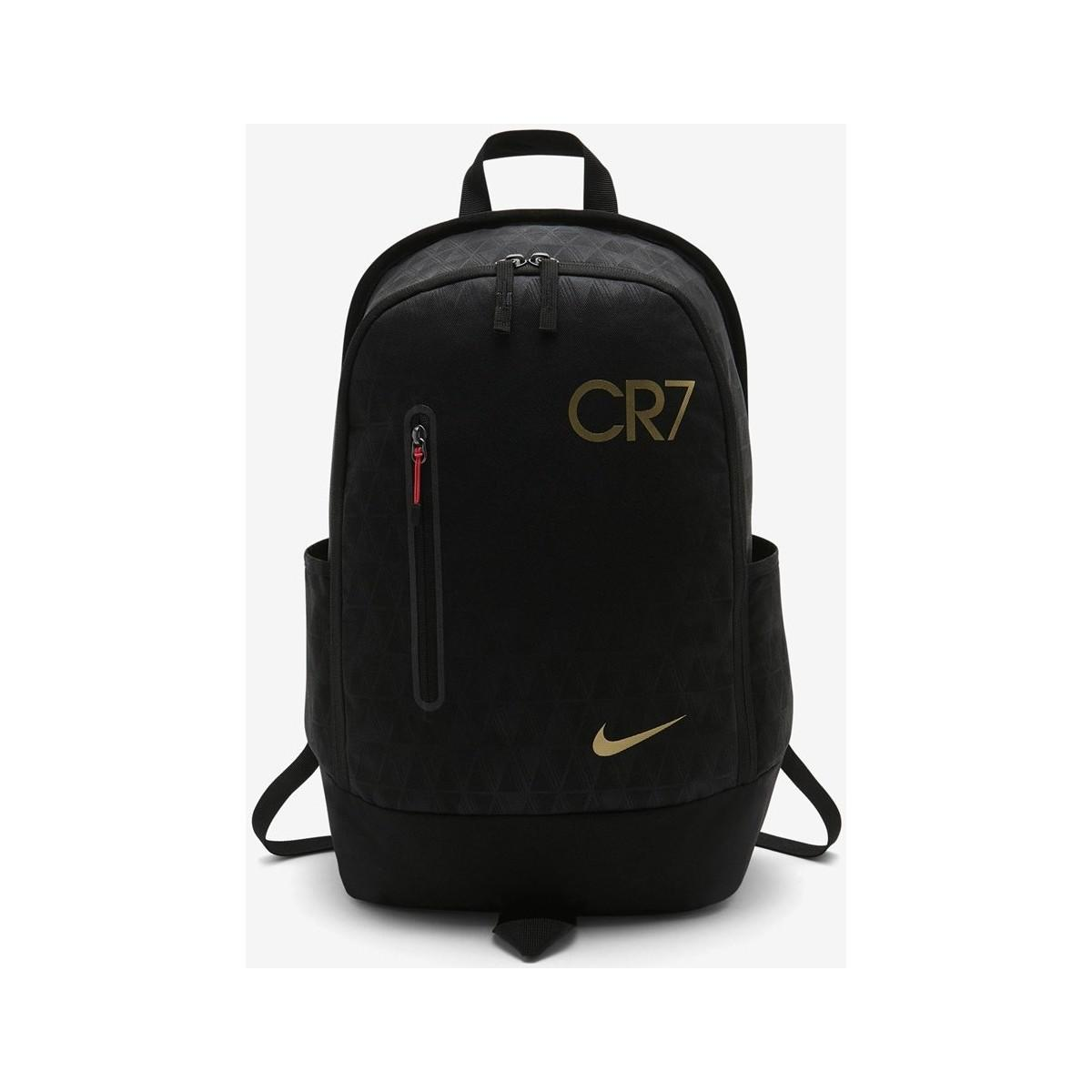 c2f03a824d Nike Y Cr7 Nk Fb Backpack Women s Backpack In Black in Black - Lyst