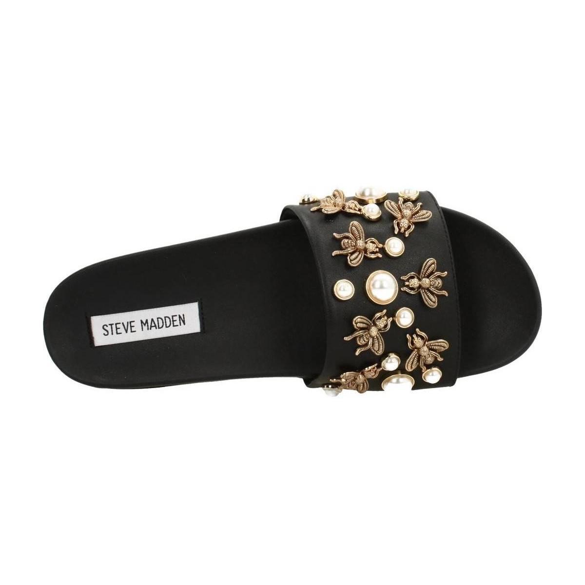 78772ac2945 Steve Madden Adorn Women s Sandals In Black in Black - Lyst