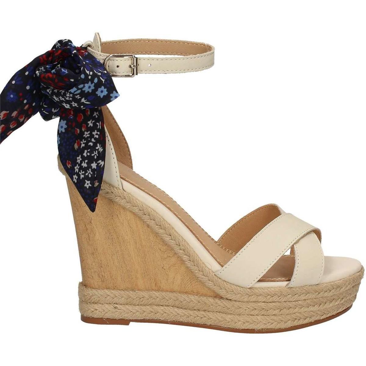 1b16e7552196 Tommy Hilfiger Fw0fw00663 Wedge Sandals Women White Women s Sandals ...