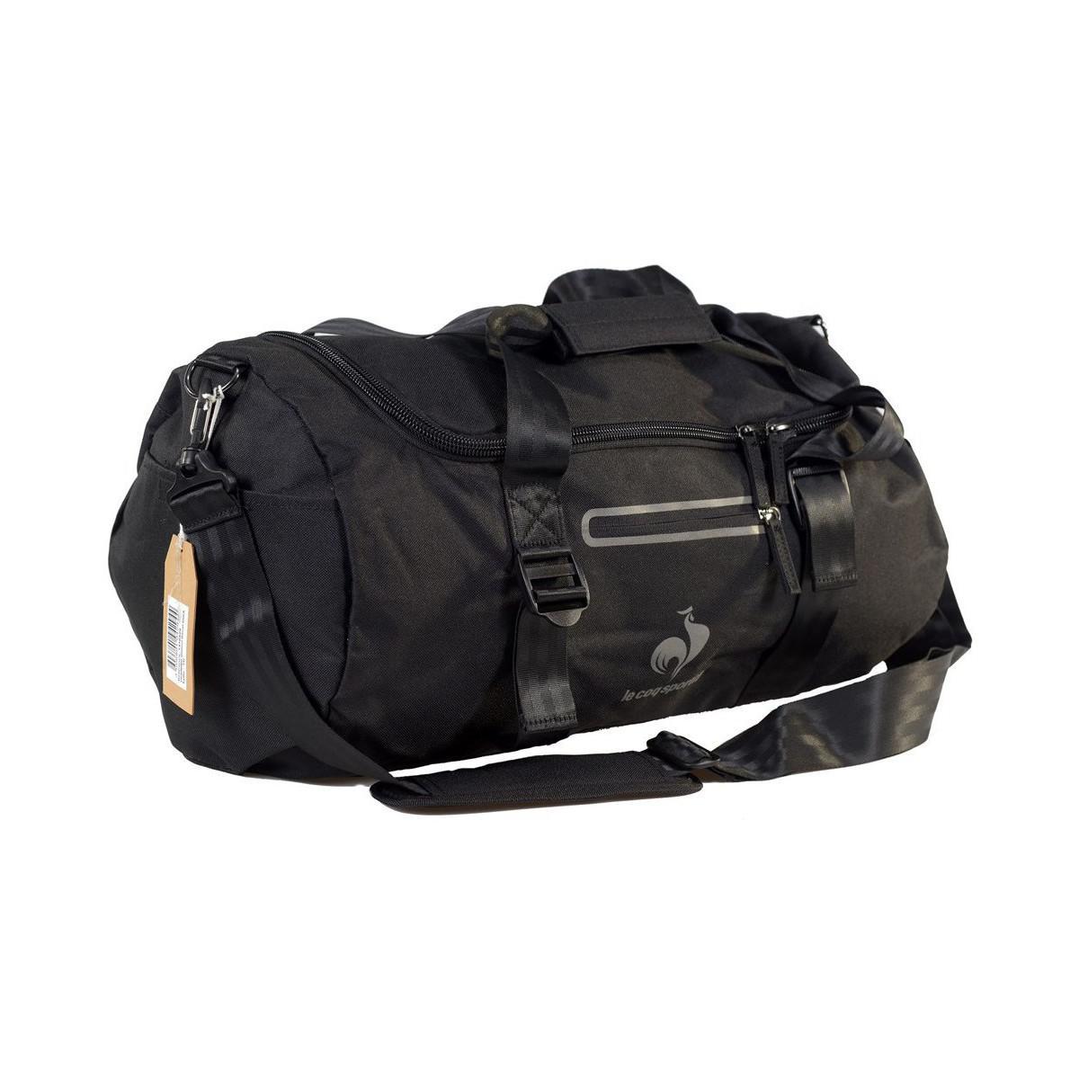 c443427ee6e Le Coq Sportif Training Glaieul Barrel Black Women's Sports Bag In ...