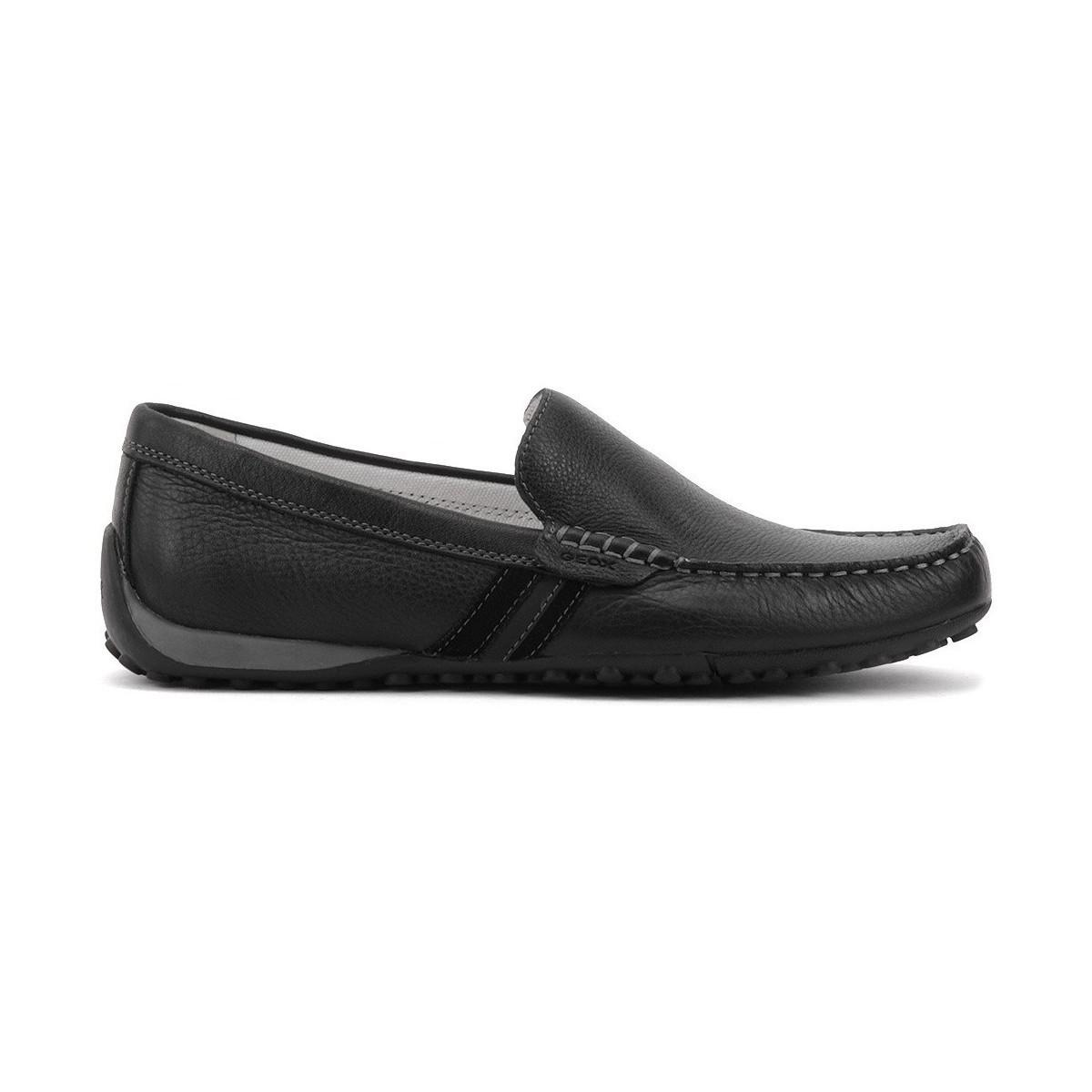 505f0099c52 Geox Snake Men s Loafers   Casual Shoes In Black in Black for Men - Lyst