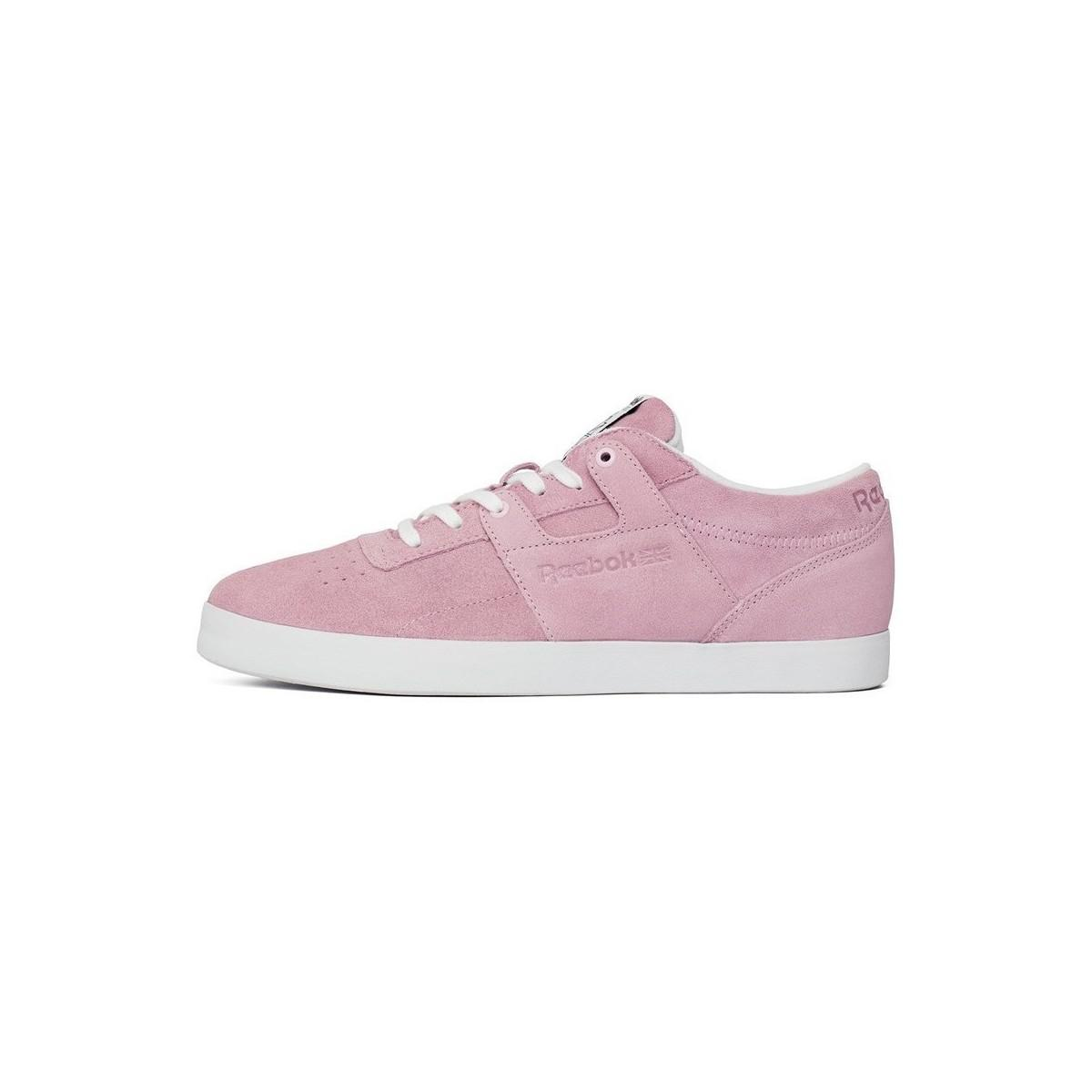 e1898da3174 Reebok Workout Clean Fvs Men s Shoes (trainers) In Pink in Pink for ...