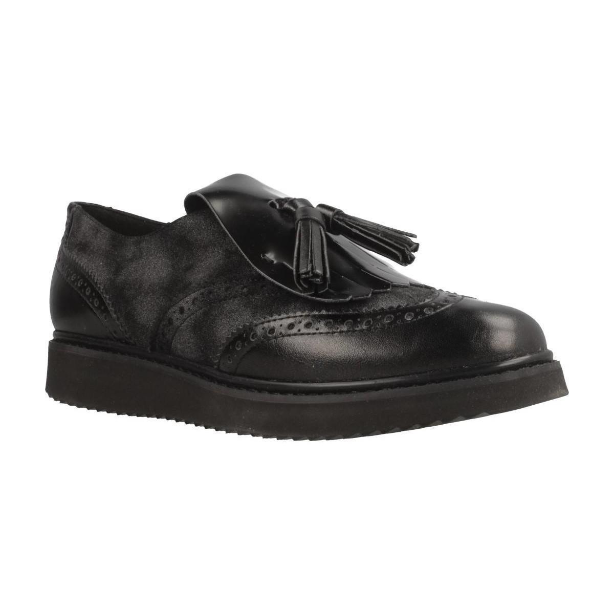 fcb420559fe Geox D Thymar Women s Loafers   Casual Shoes In Black in Black - Lyst